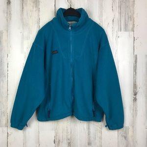 Columbia   Teal Fleece Jacket (M)